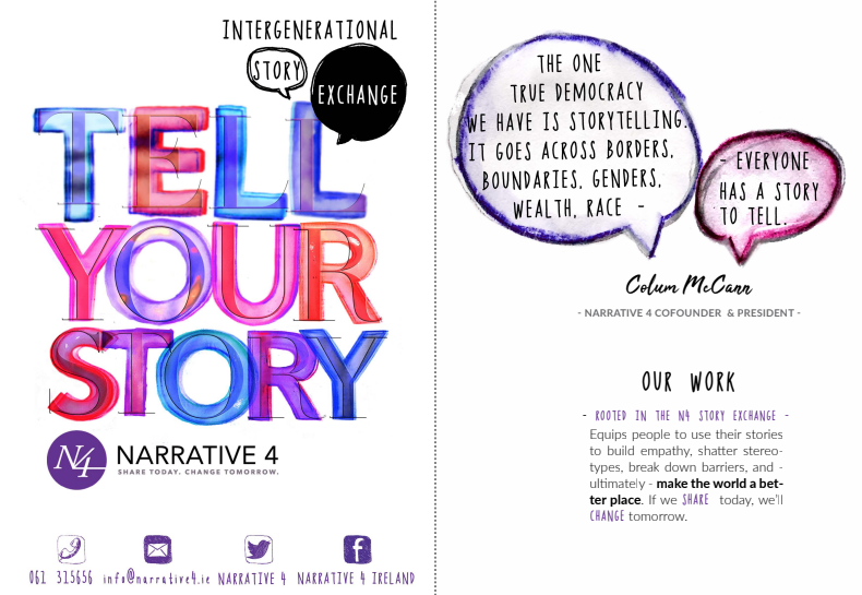 Tell Your Story Booklet